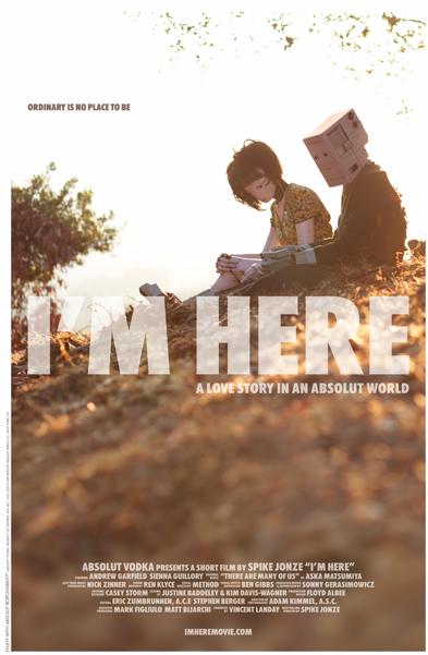 I'm here - FILM